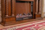 ヨーロッパの切り分けるLEDはつける電気暖炉(320SB)を熱する3D Efftectsを