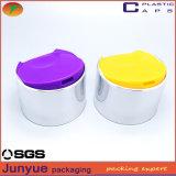 24/410 tapa plástica de la tapa del disco de la botella, cubierta plástica