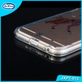 para a tampa de cristal feita sob encomenda original das caixas do telefone do Sublimation DIY TPU da pintura 3D do caso do iPhone 7 para o iPhone 7 positivo