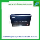 Batería de encargo de la potencia que empaqueta el rectángulo de regalo móvil del embalaje del disco duro del producto eléctrico