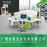 Mobília de escritório moderna da mesa de escritório da estação de trabalho da cruz de 120 graus