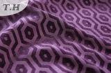 2017 telas 100% do poliéster do roxo para o sofá e a mobília (FTH32095)