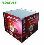 Pappfußboden-Ladeplatten-Bildschirmanzeige-Punkt von Pur⪞ Hase Wühlkorb-Bildschirmanzeige