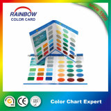 Papier mural personnalisé Pringting Coating Color Card