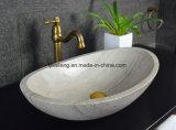Lavabo de marbre gris en bois de Bathoom
