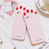 Silicone Cell Phone Case para iPhone 7 7plus 6g 6pluscase Acessórios para telemóveis (XSF-074) (XSF-075)