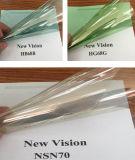 Película teñida de cristal reflexiva metálica magnética de la ventana de coche del nuevo producto