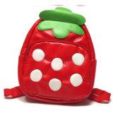 Bolso de escuela lindo de la fresa de la nueva venta al por mayor del diseño para el niño de la muchacha