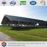 Tettoia portale d'acciaio del centro sportivo del blocco per grafici