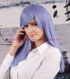 성과, 당 및 Cosplay를 위한 다채로운 방열 합성 머리 가발
