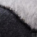 Mohair /Cotton/tessuti Mixed di nylon lane del poliestere/delle lane, spessi per l'inverno nel bianco