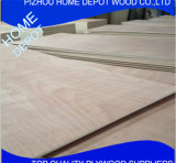 Madera contrachapada comercial/madera contrachapada de lujo para los muebles de la fábrica de Jiangsu