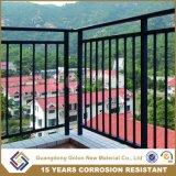 Собранные цены Railing балкона покрытия порошка алюминиевые
