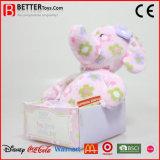 Het gevulde Dierlijke Zachte Stuk speelgoed van de Olifant van de Pluche voor de Jonge geitjes van de Baby