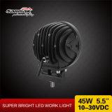 Luz de trabajo caliente de la luz de conducción del CREE LED del redondo 45W LED