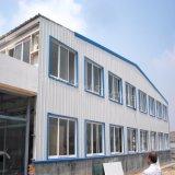 Atelier mécanique portique de structure métallique de lumière de bâti avec la grande envergure