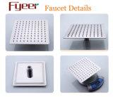 Fyeer LED änderte dünne Niederschlag-Dusche-Kopf-Badezimmer-Hahn-Farbe durch Wassertemperatur