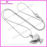 De Juwelen van de Urn van de Halsband van de Tegenhanger van de Crematie van het Roestvrij staal van de manier (Duif)