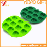 Cubo de gelo elevado Customed do silicone de Tempreature Ketchenware do urso colorido (XY-HR-59)