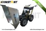 Затяжелитель кургана колеса старта оборудований фермы электрический гидростатический миниый