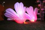 Fleur gonflable de l'éclairage géant DEL de Ningbang pour la décoration d'usager