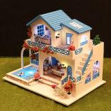 Huis van Doll van het Stuk speelgoed DIY van China 3D Model Houten