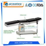 Elektrischer chirurgischer Tisch-elektrischer chirurgischer Betriebstisch hydraulischer C-Arm Röntgenstrahl kompatibel (GT-OT012)