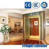 elevador Home ao ar livre interno do passageiro do elevador do quarto da máquina de Roomless da máquina 320-1600kg
