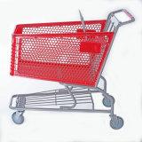 Carrello di plastica di acquisto con 180L