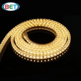 220V 120LEDs / M SMD3528 Rope Double LED Flexibles Strips comme décoration de Noël
