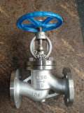Válvula de globo del molde de las BS 1873 Wcb/CF8 RF/Rtj/Bw con el volante de dirección o dirigido por engranaje