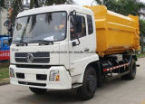 15 T Dongfeng 4X2の熱い販売によってはアーム15トンの引きごみ収集車が転がり落ちる