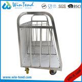 Divisore caldo del carrello del piatto di trasporto dell'acciaio inossidabile di vendita con le rotelle