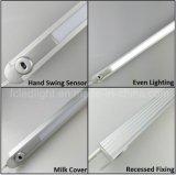 De in een nis gezette Lineaire LEIDENE van de Sensor van het Bereik van de Hand Lamp van de Keukenkast