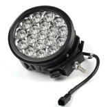 Super Power 90W LED Work Light with CREATES for Chips 4*4 Offroad Car Truck SUV ATV UTV 7inch Driving Light IP68