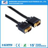 Mâle de moniteur VGA au cable connecteur mâle de vidéo de prolonge