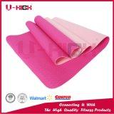 Couvre-tapis de Pilates de couvre-tapis de yoga de bande d'accessoires de yoga de couleur de la texture deux