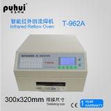 Calefator infravermelho Puhui T962A do CI, forno do Reflow, 8 ondas inteligentes que aquecem-se, forno Desktop da temperatura do Reflow, forno infravermelho do Reflow, soldador de BGA IrDA, forno do Reflow de SMT