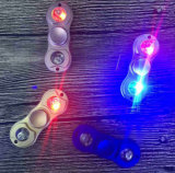 Blinkenunruhe-Spinner 2017 der heißer Verkaufs-keramischer Peilung-Finger-Spielzeug-Handspinner-Unruhe-Spinner Alunimun Legierungs-LED