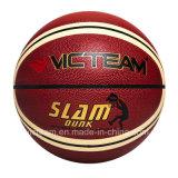 صنع وفقا لطلب الزّبون تصميم علامة تجاريّة حجم 7 [بو] كرة سلّة