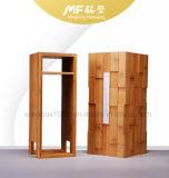 Retro Abnehmbare Dekorative Carbonized Bambus Original-Holz-Wein-Geschenkbox