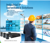 VoIP/WiFi/Camera를 위한 Indrustrial Poe 스위치