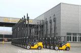 디젤 엔진 콘테이너 포크리프트를 드는 작은 수용량 3000kg 3.0t 옆 이동 장치 세겹 돛대