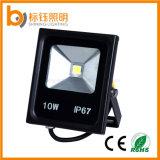 el reflector impermeable IP67 Rgbwpc de la iluminación al aire libre de la lámpara de pared de 10W LED AC85-265V colorea la luz del parque