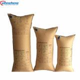 Balastro de madera de los sacos hinchables del cargamento que empaqueta para la protección