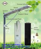 luz de rua solar Integrated da microplaqueta do diodo emissor de luz de 30W Bridgelux com 3 anos de garantia