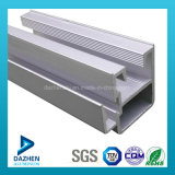 Perfil de aluminio de la protuberancia de la vida útil de la puerta larga de la ventana con el bronce anodizado