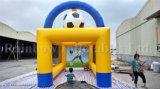 Juego inflable del Shooting del fútbol de la venta superior, juegos inflables del deporte del balompié