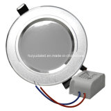Vendita calda LED Downlight/comitato registrabile chiaro del punto AC85-265V Aluminum+PC Matrial