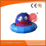 Anatra di galleggiamento gialla di 0.9mm di spessore della tela incatramata popolare del PVC per il gioco T12-219 di sport di acqua